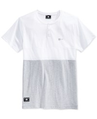 Lrg Systematic Colorblocked Short Sleeve Henley