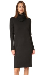 Dkny Pure Cowl Neck Sweater Dress Black