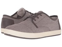 Toms Paseo Brown Chambray Men's Lace Up Casual Shoes