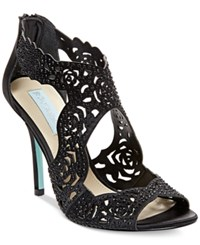 Blue By Betsey Johnson Livie Evening Sandals Women's Shoes Black