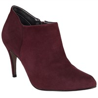 John Lewis Willow Suede Shoe Boots Red