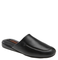L.B. Evans 'Duke Scuff' Slipper Online Only Black