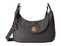 Baggallini Gold Oslo Small Hobo Charcoal Hobo Handbags Gray