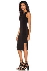 Velvet By Graham And Spencer Claudine Stretch Jersey Tank Dress Black