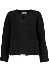 Pringle Woven Cardigan Black