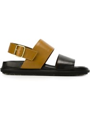 Marni Strappy Sandals Black
