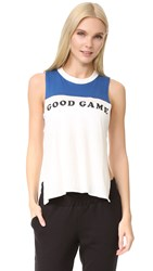 Free People Movement Good Game Tank Blue Combo