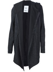 Lost And Found Rooms Hooded Cardigan Black