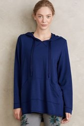 Anthropologie Manon Hoodie Dark Blue