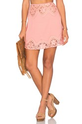 For Love And Lemons X Revolve Skirt Pink