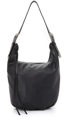 B Low The Belt Palladium Hobo Bag Black