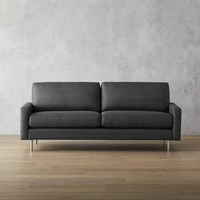 Cb2 Central Graphite Sofa