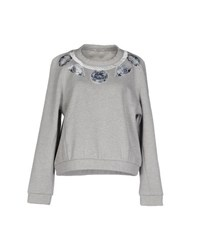 Emma Cook Topwear Sweatshirts Women Grey