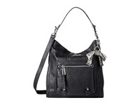 Jessica Simpson Tatiana Hobo Black Grey Snake Hobo Handbags