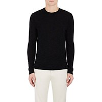 Theory Space Dyed Cashmere Sweater Black