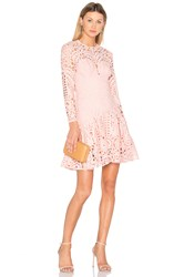 Lover Harmony Pleat Mini Dress Pink