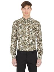Eton Slim Printed Cotton Button Down Shirt