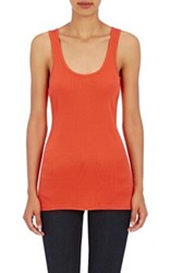 Skin Women's Ribbed Pima Cotton Tank Red