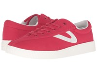 Tretorn Nylite Plus Red Red White Women's Lace Up Casual Shoes