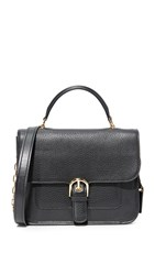 Michael Michael Kors Large Cooper School Satchel Black