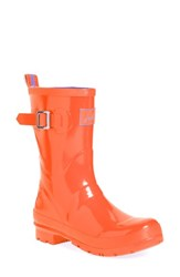 Women's Joules 'Kelly Welly' Rain Boot Orange