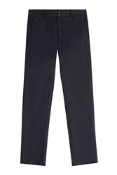 Maison Martin Margiela Maison Margiela Cotton Chinos With Linen Blue