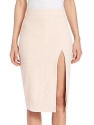L'agence Yvonne Slit Pencil Skirt Quartz