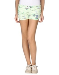 Franklin And Marshall Shorts Light Green