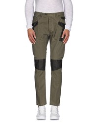 Messagerie Trousers Casual Trousers Men Military Green