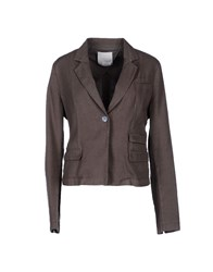 Gold Case Suits And Jackets Blazers Women Dove Grey