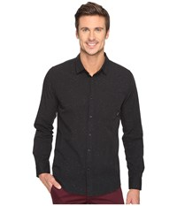 Tavik Delancy Long Sleeve Woven Black Men's Long Sleeve Pullover
