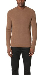 Theory Ronzons Wool Crew Sweater Wicker