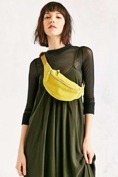 Urban Outfitters Suede Belt Bag Green
