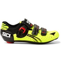 Sidi Genius 5 Fit Tech Pro And Mesh Cycling Shoes Yellow