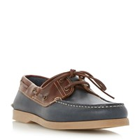 Dune Boat Party Classic Boat Shoes Brown