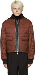Cmmn Swdn Brown Quilted Nash Jacket