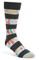 Dwyane Wade And Stance 'Feathers' Crew Socks Black