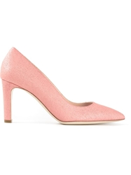 Rupert Sanderson Pointed Toe Pumps Pink And Purple