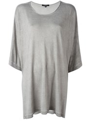 Unconditional Draped T Shirt Grey