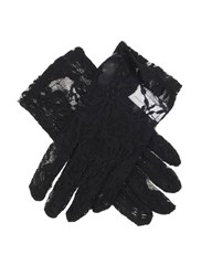 Dents Ladies Stretch Lace Glove Black