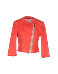Hanita Coats And Jackets Jackets Women Coral