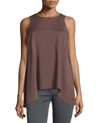 Brunello Cucinelli Reversible Trapeze Camisole Brown