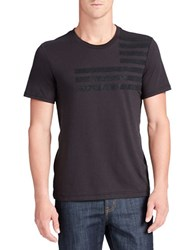 William Rast Caviar Graphic Tee Black