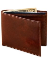 Tommy Hilfiger Leather Bifold Wallet Tan