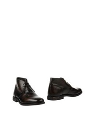 Pantofola D'oro Ankle Boots Dark Brown