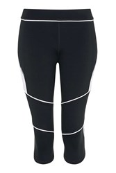 Colour Block Biker Capri Leggings By Ivy Park Black