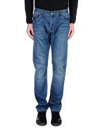 Sun 68 Denim Denim Trousers Men Blue