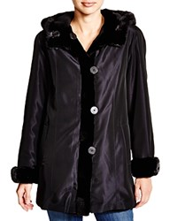 Maximilian Sheared Mink Hooded Jacket Bloomingdale's Exclusive