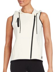 New Balance Athletic Asymmetrical Vest Natural