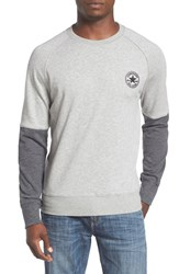 Converse Men's Colorblock Crewneck Sweatshirt